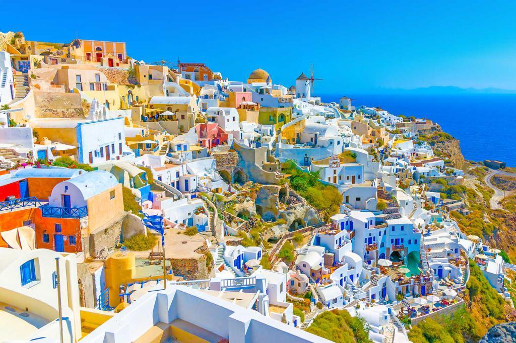 картинки отдых в греции среди