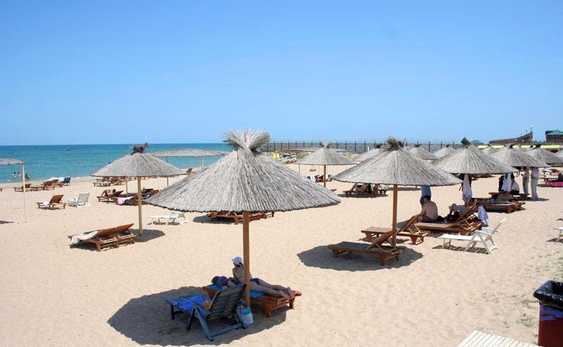пляж в Дагестане