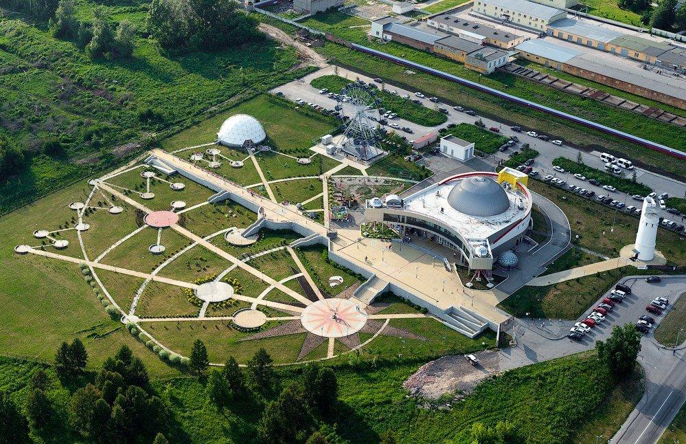 картинки планетарий в новосибирске елка