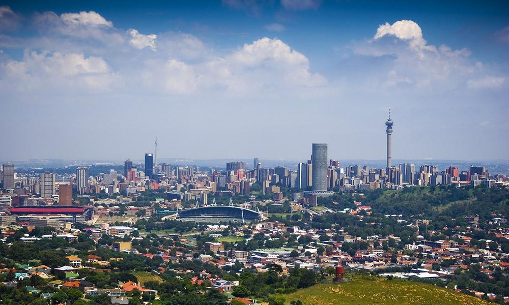 Где находится Йоханнесбург