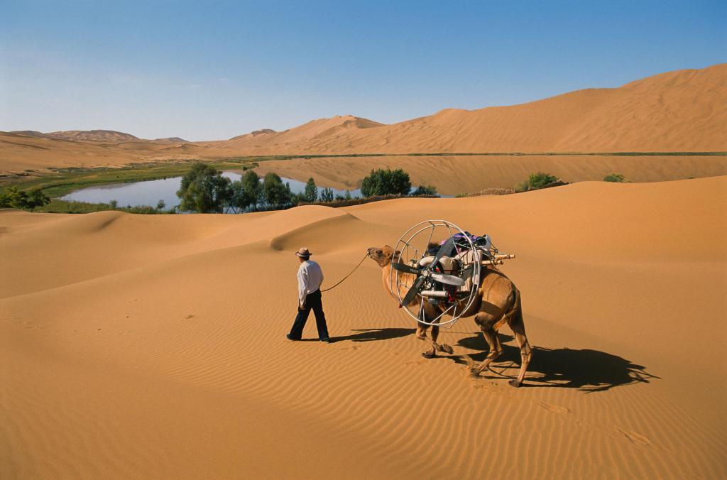 Уникальные пейзажи пустыни Гоби