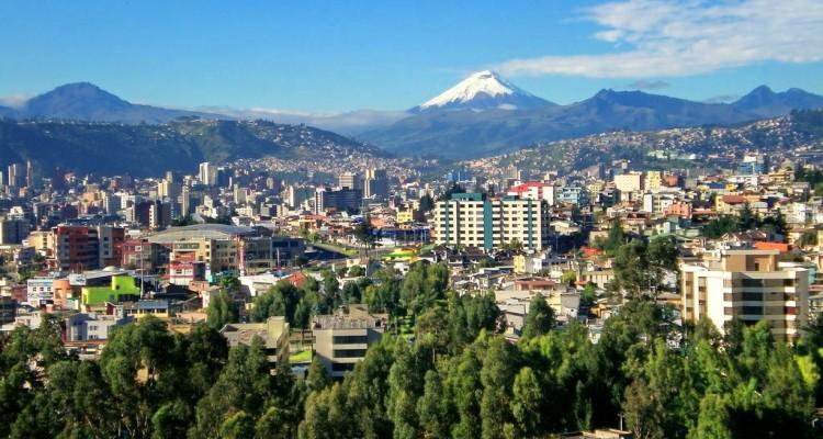 здания города Кито