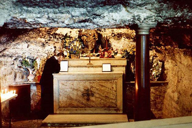 Пещера пророка Ильи