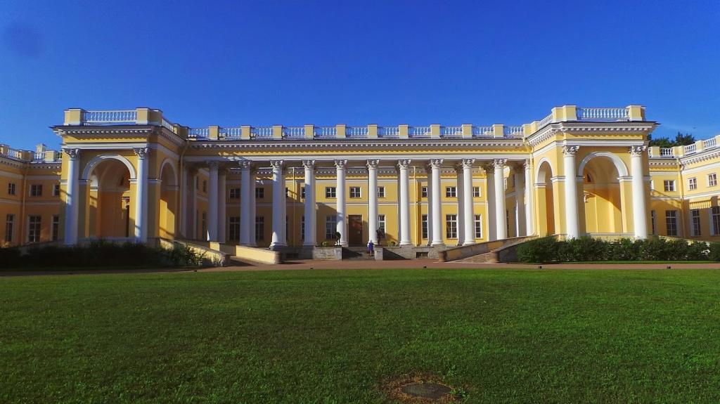 времена, позднее, александровский дворец старые фото художника ничего мне