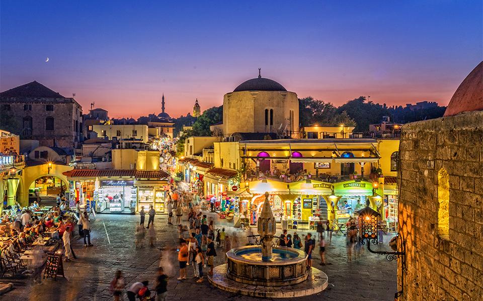 Город Родос Греция фото достопримечательности и отдых