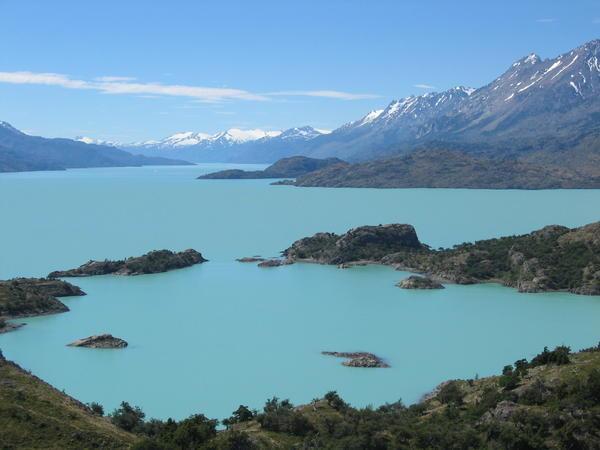 Озеро Сан-Мартин
