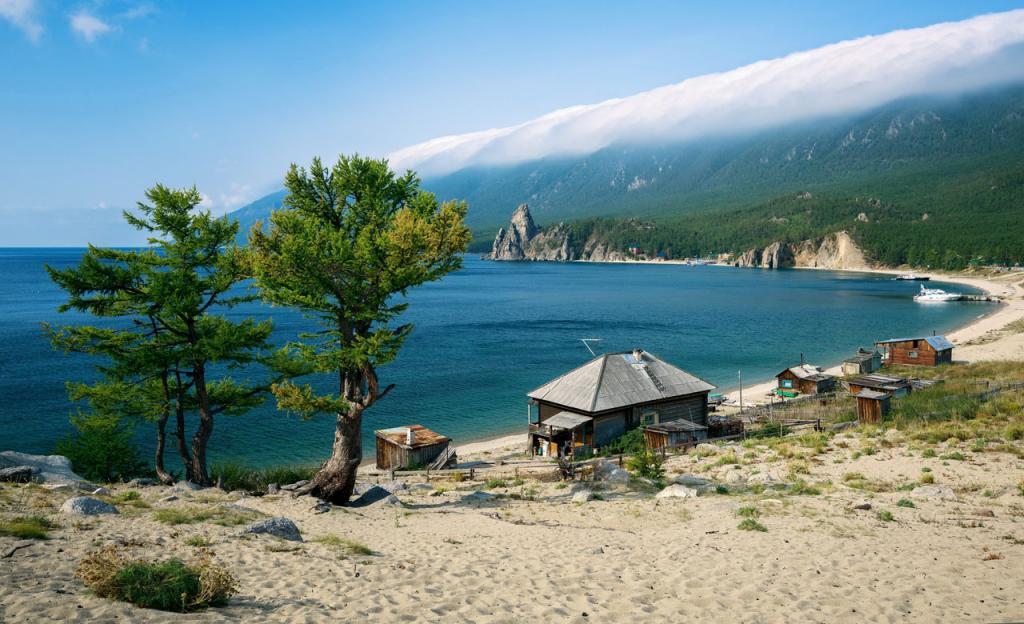 Песчаная бухта, Байкал
