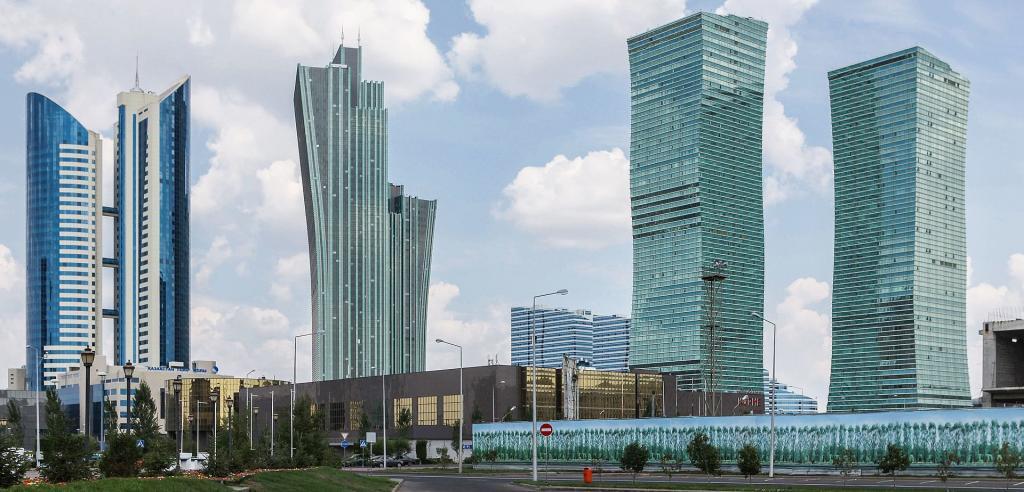 Изумрудный квартал в Нур-Султане Казахстан Фото история интересные факты