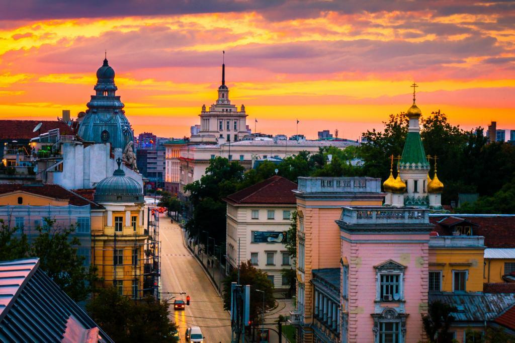 Картинка города софии