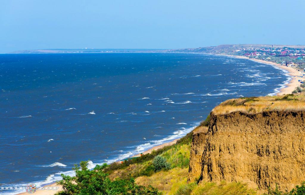 Тамань, Азовское море